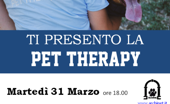 Ti presento la pet therapy